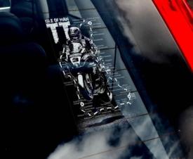 TT Window Sticker (Guy Martin)