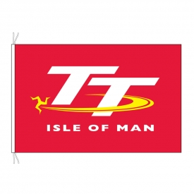 Large TT Races Flag