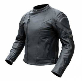 Casual Cafe Style Leather Jacket