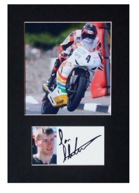 Ian Hutchinson Autographed